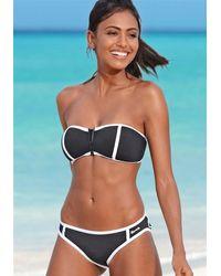 Bench Bandeau–Bikini - Schwarz