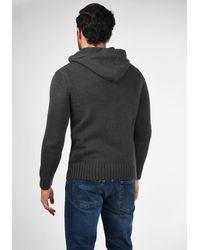 Solid Pullover 'Penn' - Grau