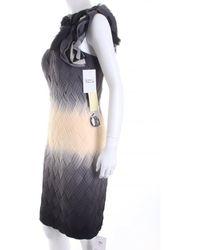 Mikael Aghal One-Shoulder-Kleid - Mehrfarbig