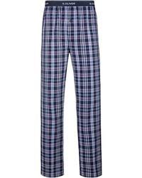 S.oliver Pyjamahose - Blau