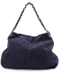 Chanel Schultertasche - Blau