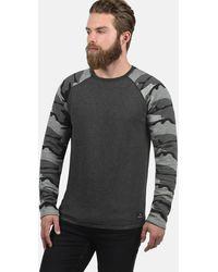 Solid Sweatshirt 'Cooper' - Grau