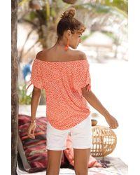 S.oliver Strandshirt - Orange
