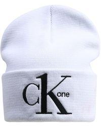 Calvin Klein Mütze 'CK1' - Weiß