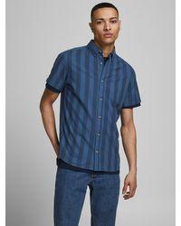Jack & Jones Hemd 'Oxford' - Blau