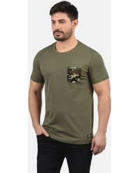 Solid - Rundhalsshirt 'Calvin' - Lyst