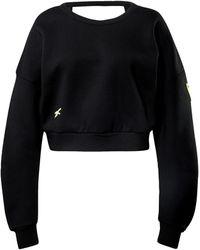 Reebok Sportsweatshirt - Schwarz