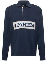 La Martina Sweatshirt - Blau