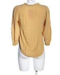 H&M Langarm-Bluse - Gelb