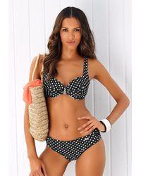 Lascana Bügel-Bikini - Schwarz