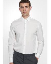 Seidensticker Hemd 'Slim' - Weiß