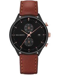 PAUL HEWITT Uhr - Schwarz