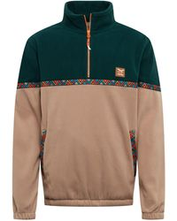 Iriedaily Sweatshirt 'Monte Noe Troyer' - Grün