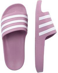 adidas Originals Badeschuh - Lila