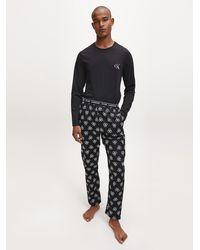 Calvin Klein Hosen-Pyjama-Set - CK One - Schwarz