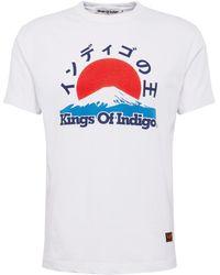 Kings Of Indigo Shirt 'DARIUS' - Weiß