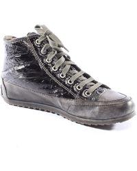 Candice Cooper High-Top Sneaker - Grau