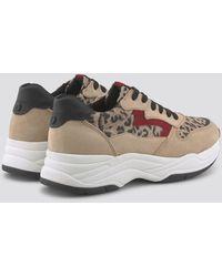 Tom Tailor Denim Shoes Sneaker mit Animal-Print - Natur