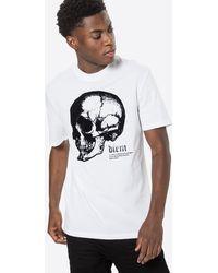 River Island - Shirt 'SKULL' - Lyst