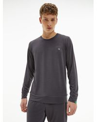 Calvin Klein - Lounge-Sweatshirt - CK One Recycled - Lyst