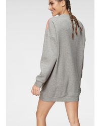adidas Originals Sweatshirt 'OSR 3 Stripes Crew' - Grau