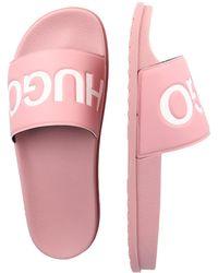 HUGO Pantolette 'Match Slid' - Pink