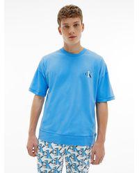 Calvin Klein Pyjama-Set - Blau