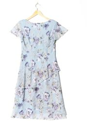 Connected Apparel Kleid - Blau