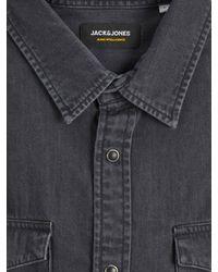 Jack & Jones Hemd 'JJESHERIDAN' - Schwarz