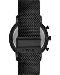 Fossil Uhr - Schwarz
