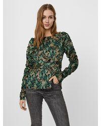 Vero Moda Bluse 'Amber' - Grün