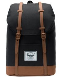 Herschel Supply Co. Rucksack 'Retreat' - Schwarz