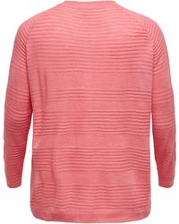 Only Carmakoma Pullover - Pink