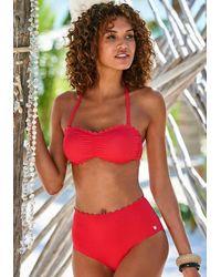 Lascana Bikinitop - Rot