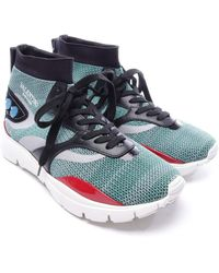 Valentino High-Top Sneaker - Blau