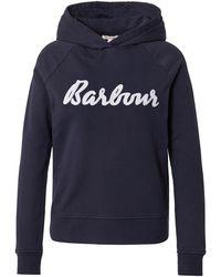 Barbour Sweatshirt 'otterburn' - Blau