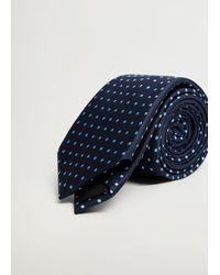 Mango Krawatte - Blau