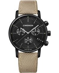 Wenger Chronograph 'Urban Classic' - Schwarz
