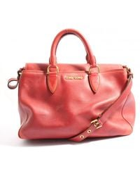 Miu Miu Handtasche - Rot