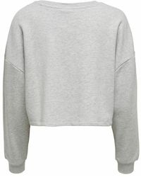 ONLY - Sweatshirt 'Fave' - Lyst