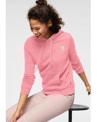 Converse Sweatshirt 'Star Chevron Embroidered' - Pink