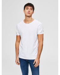 SELECTED Shirt 'MORGAN' - Weiß