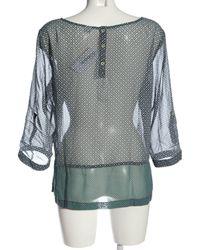 S.oliver - Transparenz-Bluse - Lyst