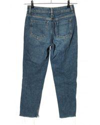 ASOS 7/8 Jeans - Blau