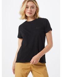 Superdry Shirt 'OL ELITE CREW TEE' - Schwarz