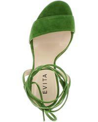 Evita Damen Sandalette EVA - Grün