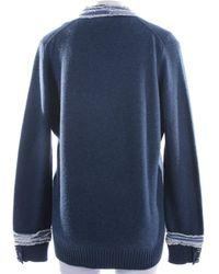 Chanel Pullover / Strickjacke - Blau
