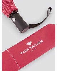 Tom Tailor Automatik - Regenschirm - Pink