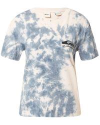 Quiksilver T-Shirt 'DAILY SESSION CROP TEE' - Blau