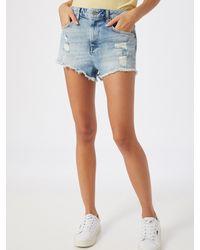 Superdry Jeans 'CUT OFF SHORT' - Blau
